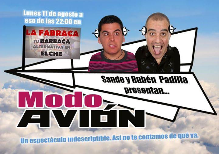 Espectáculo de humor 'Modo Avión' | Sando y Rubén Padilla